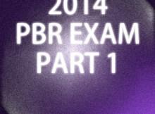 2014-PBR-Exam-Part-1
