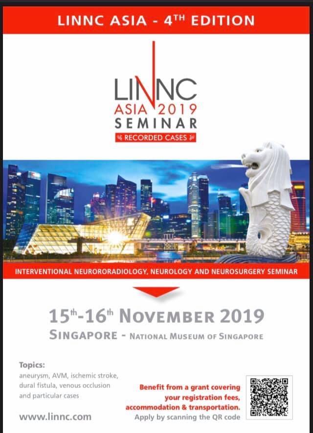 2019 LINNC Asia (Live Interventional Neuroradiology, Neurology & Neurosurgery Course)