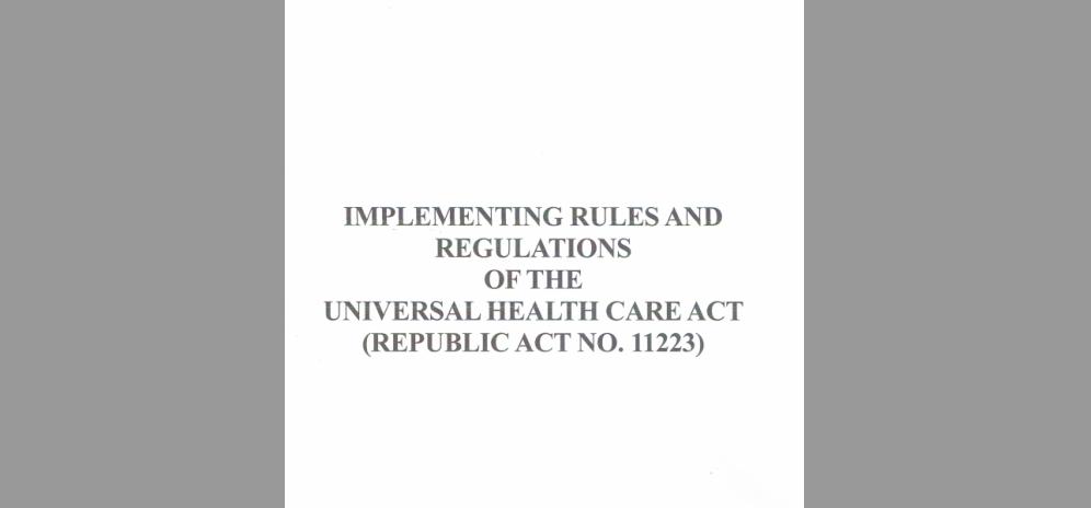 Signed UHC-IRR